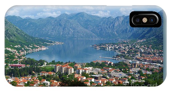Bay Of Kotor - Montenegro IPhone Case