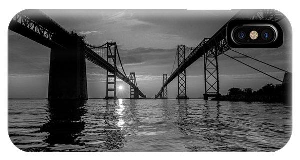 Bay Bridge Strength IPhone Case