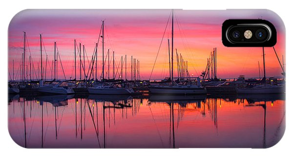 Bayfield Wisconsin Magical Morning Sunrise IPhone Case