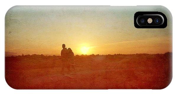 Baylands Sunset IPhone Case