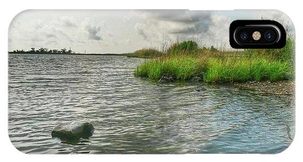 Bayou Sale Fishing Hole IPhone Case