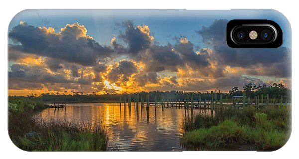 Bayou Sunrise IPhone Case