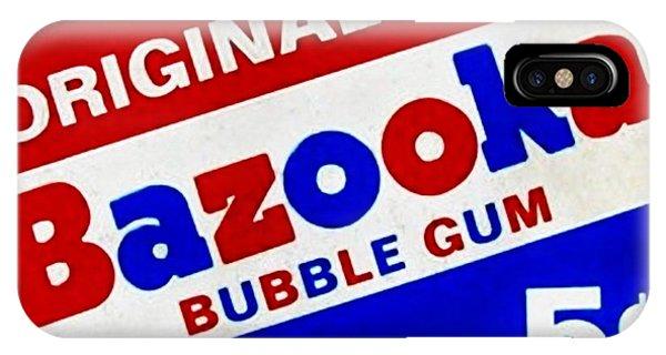 Bazooka Bubble Gum  IPhone Case