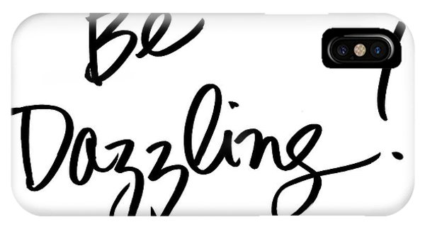 Office iPhone Case - Be Dazzling by South Social Studio