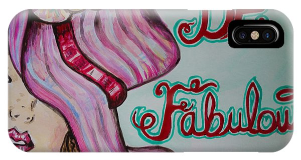Be Fabulous IPhone Case