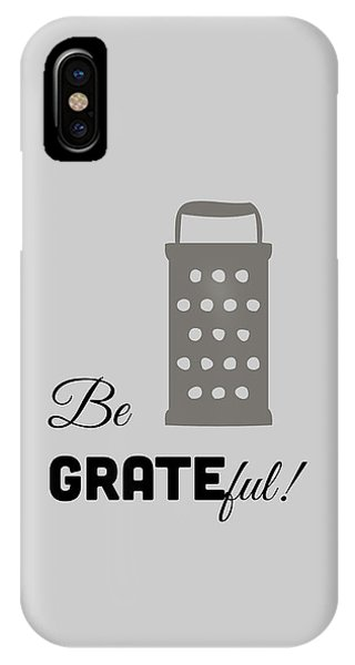 IPhone Case featuring the digital art Be Grateful by Nancy Ingersoll