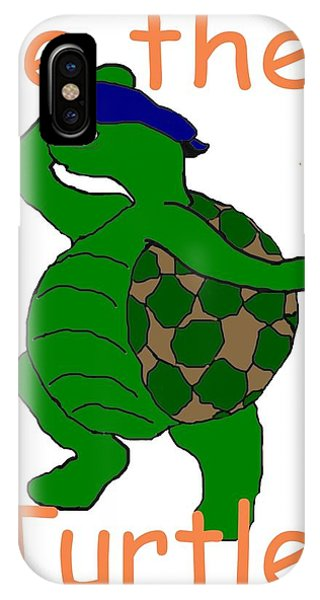 Be The Turtle Phone Case by Pharris Art