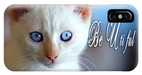 Be U Ti Ful IPhone Case