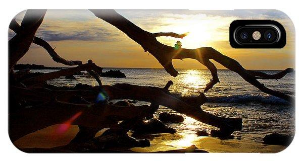 Beach 69 Hawaii At Sunset IPhone Case