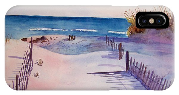 Beach Afternoon IPhone Case
