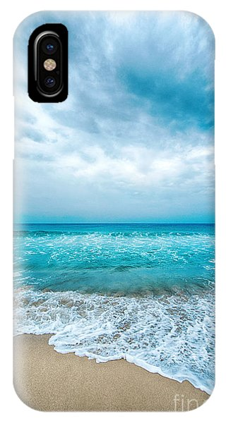 IPhone Case featuring the photograph Beach And Waves by Yew Kwang
