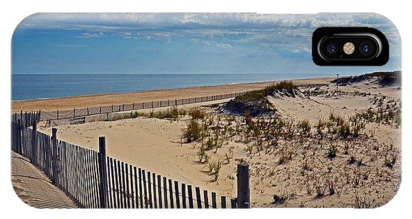 Beach At Cape Henlopen IPhone Case