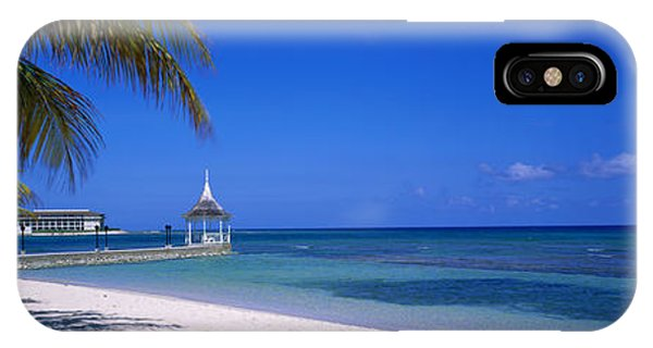 Half Moon Bay iPhone Case - Beach At Half Moon Hotel, Montego Bay by Panoramic Images
