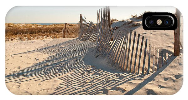 Beach At Lbi IPhone Case