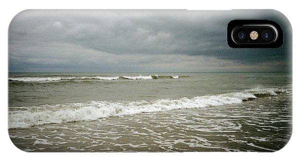 IPhone Case featuring the photograph Beach Before The Storm by Carol Whaley Addassi