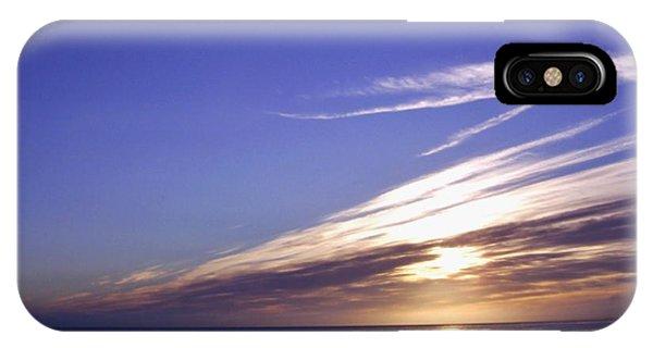 Beach Blue Sunset IPhone Case