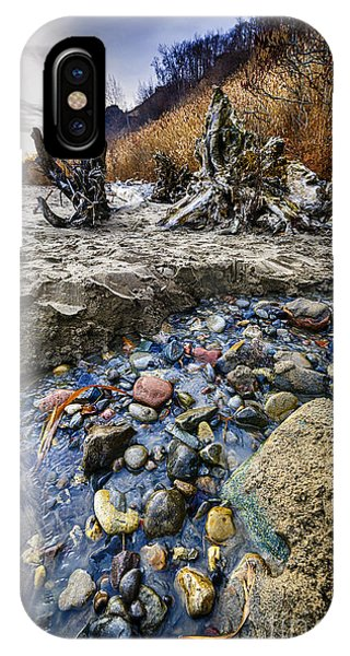 Beach Brook At Scarborough Bluffs IPhone Case
