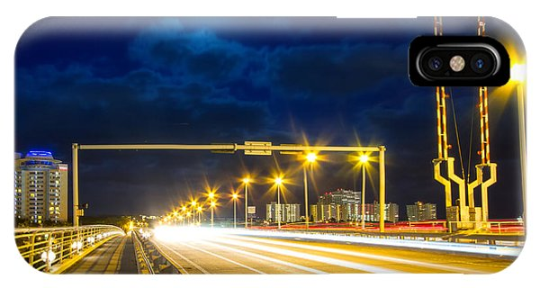 Rights Managed Images iPhone Case - Beach Causeway by Mark Andrew Thomas