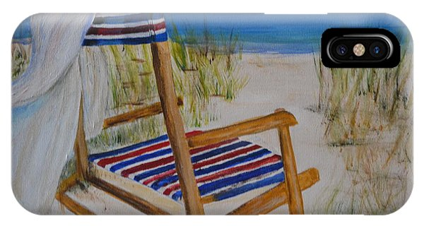 Beach Chair IPhone Case