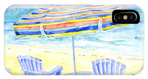 Beach Chairs IPhone Case