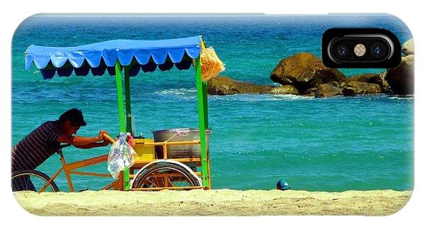 Beach Entrepreneur In San Jose Del Cabo IPhone Case