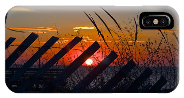 Beach Fence IPhone Case