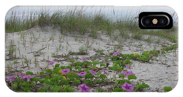 Beach Flowers IPhone Case