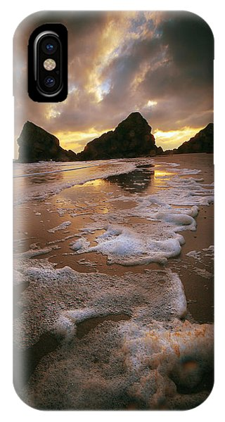 Beach Foam IPhone Case