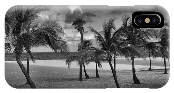 Beach Foliage IPhone Case