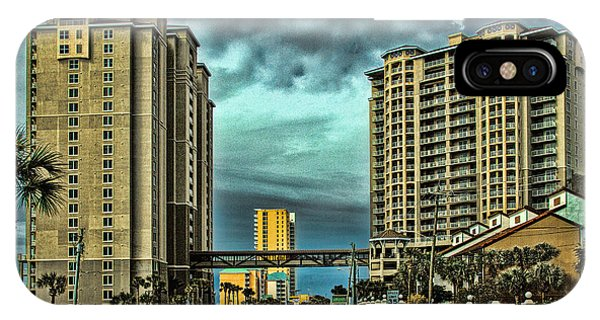 Panama City Beach Front Rd IPhone Case