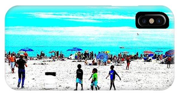 Beach Fun 3 IPhone Case