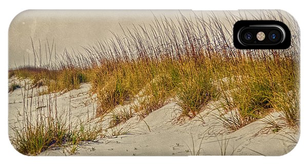 IPhone Case featuring the photograph Beach Grass And Sugar Sand by Judy Hall-Folde