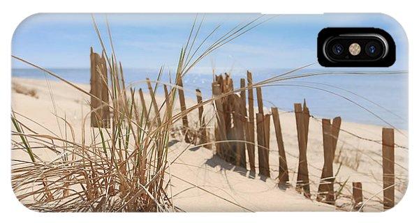 Beach Grass II Phone Case by Dapixara Art
