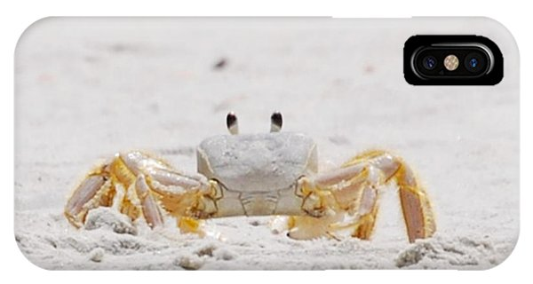 IPhone Case featuring the photograph Beach Guard by Judy Hall-Folde