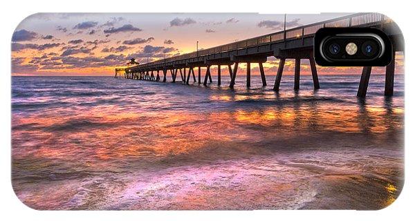 Boynton iPhone Case - Beach Lace by Debra and Dave Vanderlaan