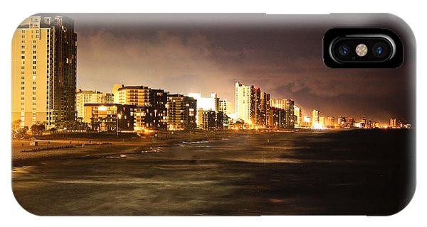 Beach Line IPhone Case