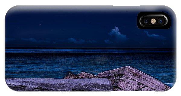 Beach Night IPhone Case