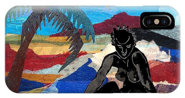 Beach Nude 3 IPhone Case