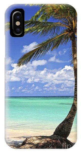 Beach Of A Tropical Island IPhone Case