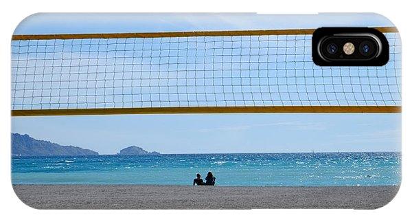 Beach Of Marseille IPhone Case