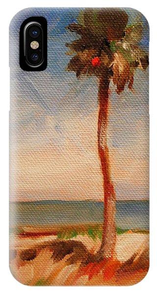 Beach Palm Tree IPhone Case