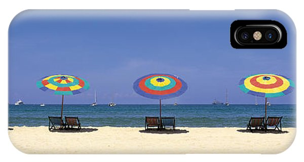 Oceanfront iPhone Case - Beach Phuket Thailand by Panoramic Images