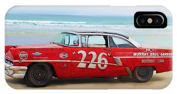 Beach Race Car 226 IPhone Case