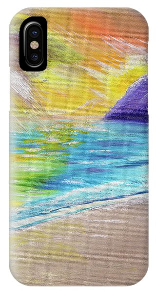 Beach Reflection IPhone Case