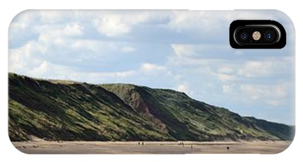 Beach - Saltburn Hills - Uk IPhone Case