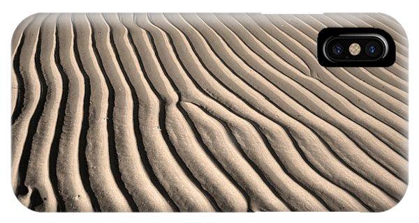 Beach Sand Ripples Phone Case by Brooke T Ryan