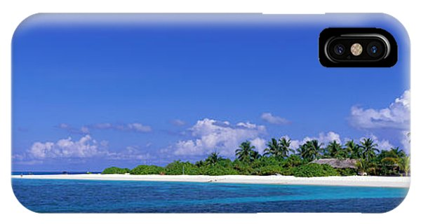 Sunbather iPhone Case - Beach Scene Maldives by Panoramic Images