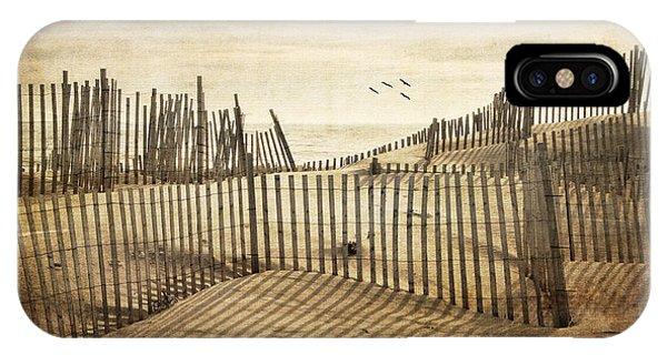 Beach Shadows IPhone Case