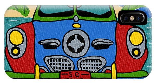 Beach Studebaker IPhone Case