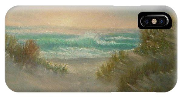 Cape Cod Beach Sunset Dunes Print  IPhone Case